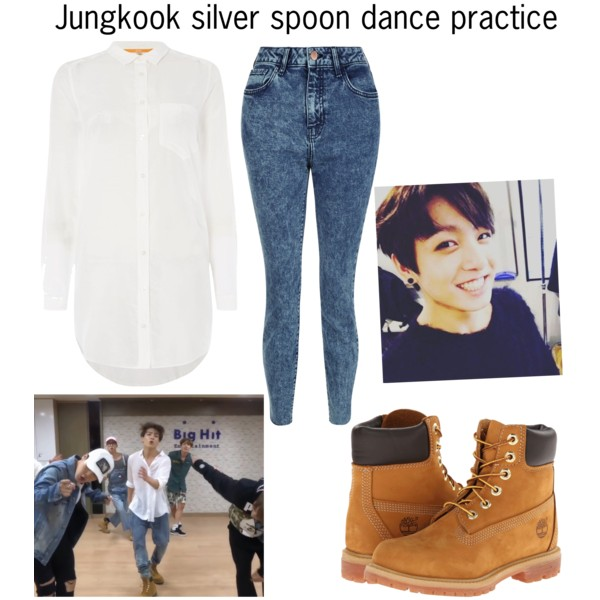 2e505812cf78f Fashmates Outfit Inspiration: Jungkook silver spoon dance practice