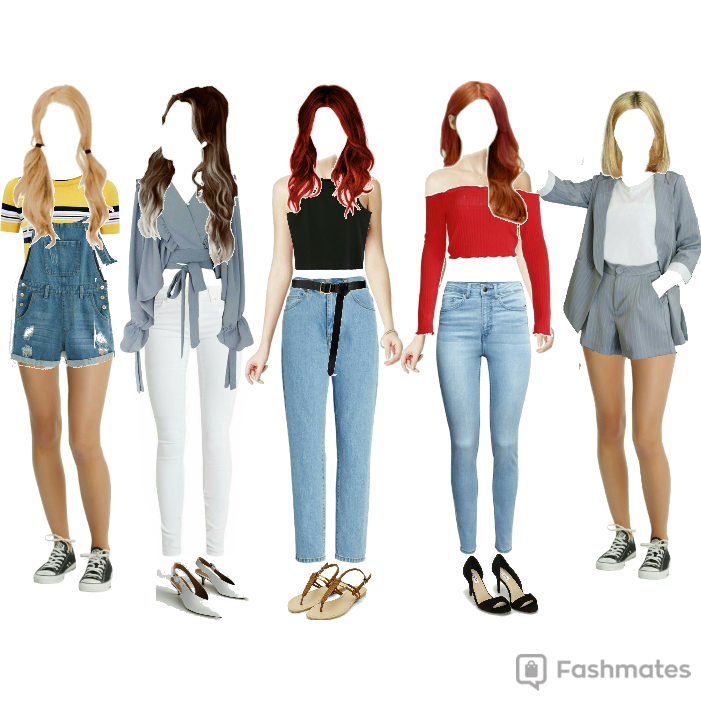 Fashmates Outfit Inspiration: loonar idol room